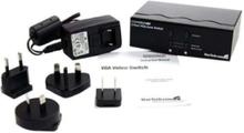 2 port VGA Auto Switch - Växla till skärmen - 2 portar