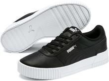 Puma Carina L Skinnsneakers, svart