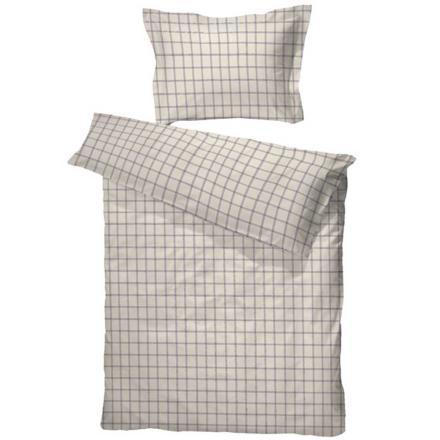 Borås Cotton Sengesett Alphand 140 x 200 / 50 x 70 Ecru