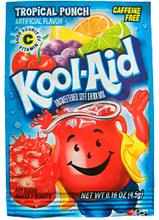 Kool Aid Lemonadepulver Tropisk 3stk 3-Pack - Uten tilsetningsstoffer!