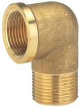 Brass Elbow Coupling 33.3mm 7284