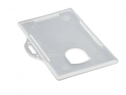 ID-kort-holder liggende plast transp