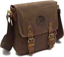Augur Canvas Vintage Men Bag Briefcase CrossBody Business Shoulder Bags Mystic Messenger Tool Bag Cell Phone Pocket Satchels