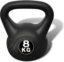 vidaXL Kettlebell plasthölje 8 kg