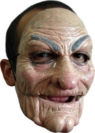Gammal man - Mask för vuxna One-size