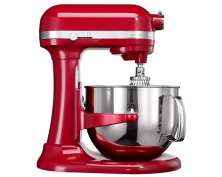 KitchenAid Artisan køkkenmaskine rød 6,9 L