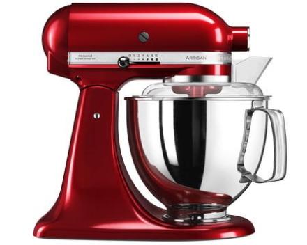 KitchenAid Artisan 175 Køkkenmaskine 4,8 liter Rød Metallic