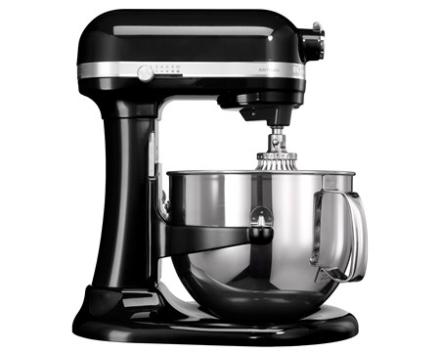 KitchenAid Artisan køkkenmaskine sort 6,9 L