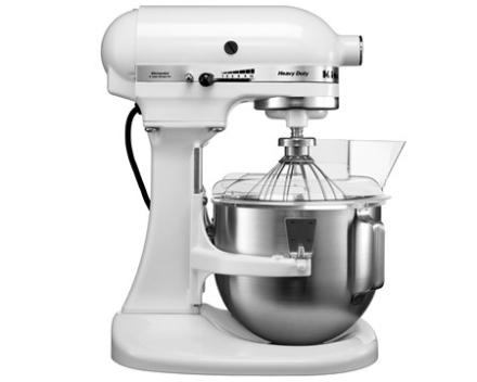 KitchenAid Heavy Duty køkkenmaskine hvid 4,8 L