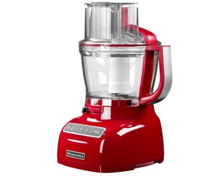 KitchenAid Foodprocessor rød, 3,1 liter
