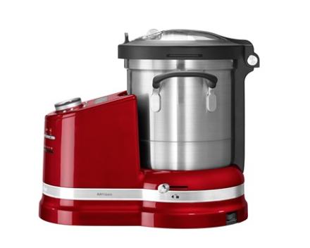 KitchenAid Artisan cookprocessor rød metalic 2,5 liter