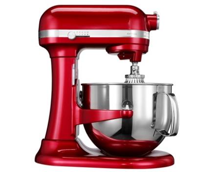 KitchenAid Artisan køkkenmaskine rød metalic 6,9 L