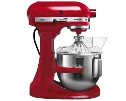 KitchenAid Heavy Duty køkkenmaskine rød 4,8 L
