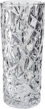 Dorre vas elegant kristall rund höjd 24,5 cm
