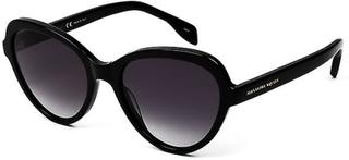 Alexander McQueen AM0029S 001 svart Frame solglasögon med Gradient ...