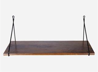 House Doctor - Hylde - m. jernophæng i sort (24x70 cm)
