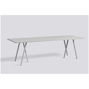 Hay bord - Loop stand table i grå (bord) 200 cm