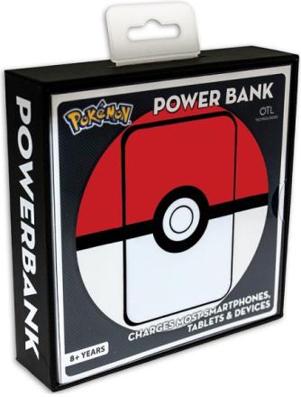 Pokémon Pokeball Eksternt batteri / Powerbank 5.000MaH - My-Phoneshop