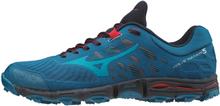 Mizuno Wave Hayate 5 Running Shoes Men blue sapphire/enamel blue/tomato UK 8,5 | EU 42,5 2019 Trailskor