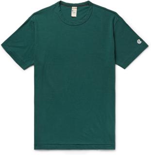 Todd Snyder + Champion - + Champion Cotton-jersey T-shirt - Green - XL,Todd Snyder + Champion - + Champion Cotton-jersey T-shirt - Green - M,Todd Snyder + Champion - + Champion Cotton-jersey T-shirt - Green - S,Todd Snyder + Champion - + Champion Cotton-j