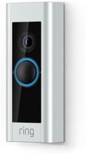 Ring Video Doorbell Pro Beige, Musta, Harmaa, Hopea