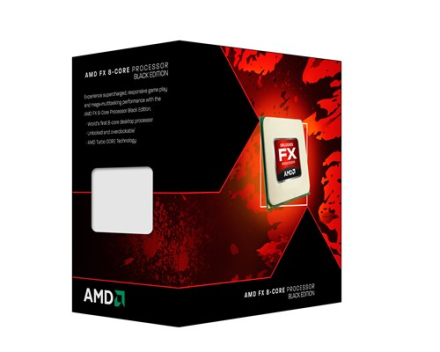 AMD Black Edition FX 8320 3.5GHz Socket AM3+ (FD8320FRHKBOX)
