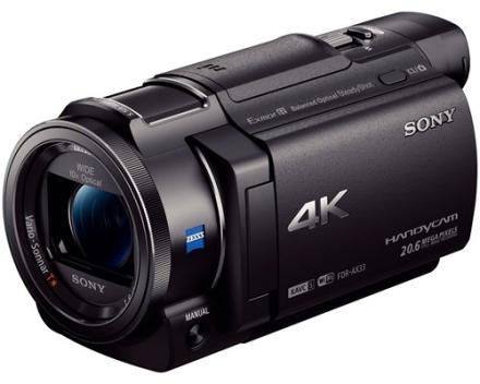 Sony Handycam FDR-AX33 (FDRAX33B.CEN)