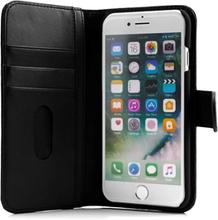 Cirafon Genuine Leather Wallet Iphone 8, Iphone 7, Iphone Se (2020) Musta