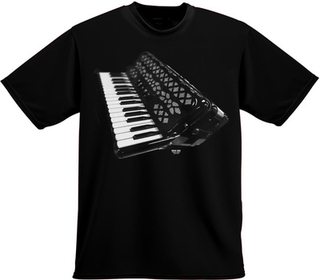Rock You T-Shirt Accordeon M