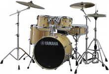 Yamaha Stage Custom Birch Standard Drumset - Natural Wood