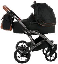 knorr-baby yhdistelmävaunut Voletto Premium musta