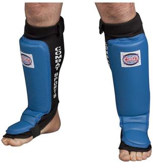 Kampsporter brottas MMA benskydd vristen - blå