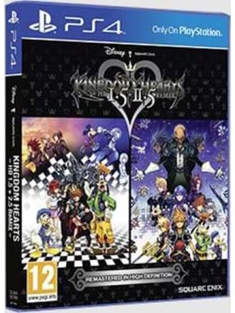Kingdom Hearts HD 1.5 + 2.5 ReMix - Sony PlayStation 4 - RPG