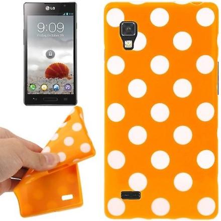 Konig Skyddande fall TPU punkterna i fallet för mobil LG Optimus L9...