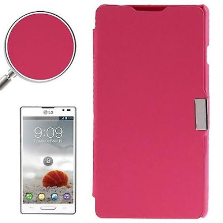 Mobiltelefon täcker fallet för LG Optimus L9 / P760 rosa borstad