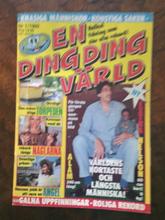 En Ding Ding värld nr 1 1992