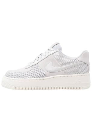 Nike Sportswear AIR FORCE 1 UPSTEP PRM Joggesko metallic platinum/pure platinum/sail