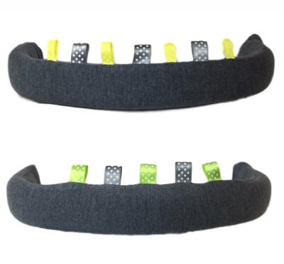 Bumperskydd med pillband (Färg: Grå/gul)