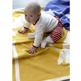 Muumi lastenhuopa keltainen