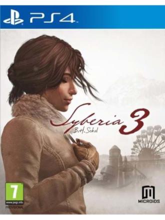 Syberia 3 - Sony PlayStation 4 - Seikkailu - ensimmäisen persoonan seikkailupeli