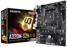 Moderkort Gigabyte GA-A320M-S2H mATX AMD A320