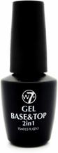 W7 Angel Manicure 2 In 1 Gel Base & Top Coat 15 ml