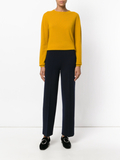 Jil Sander knitted straight trousers - Blue