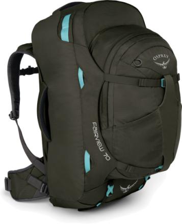 Osprey W's Fairview 70 Backpack Misty Grey 2019 Laptopväskor