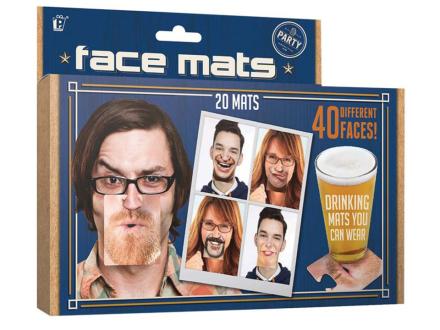 Face Mats Glasunderlägg