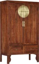vidaXL Garderob 100x50x175 cm massivt akaciaträ