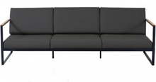 Garden Easy Sofa 3 Seat - Dark Taupe