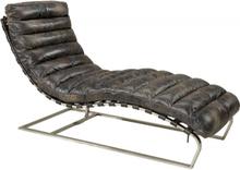 OVIEDO Lounger - Leather fudge