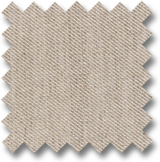 CUSHIONCOVER 60x60 with strip in fabric from category 2, Linen Plain T2221