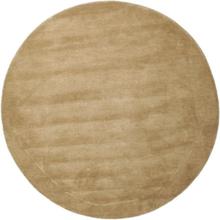 Handloom - Beige matta Ø 150 Modern, Rund Matta